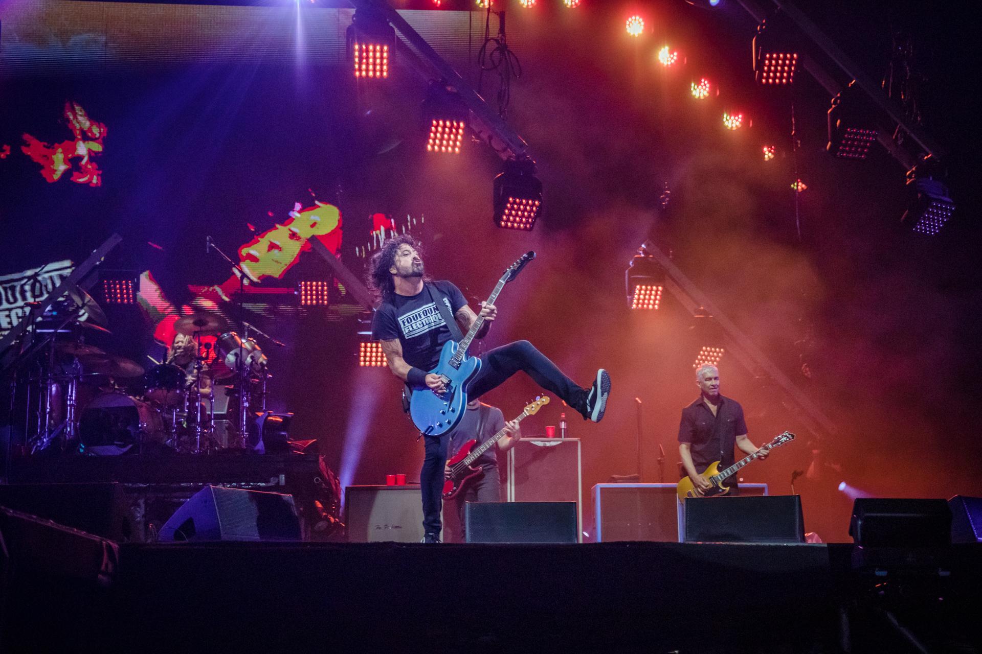 The Foo Fighters und der crowdsurfende Rollstuhlfahrer auf dem Sziget Festival