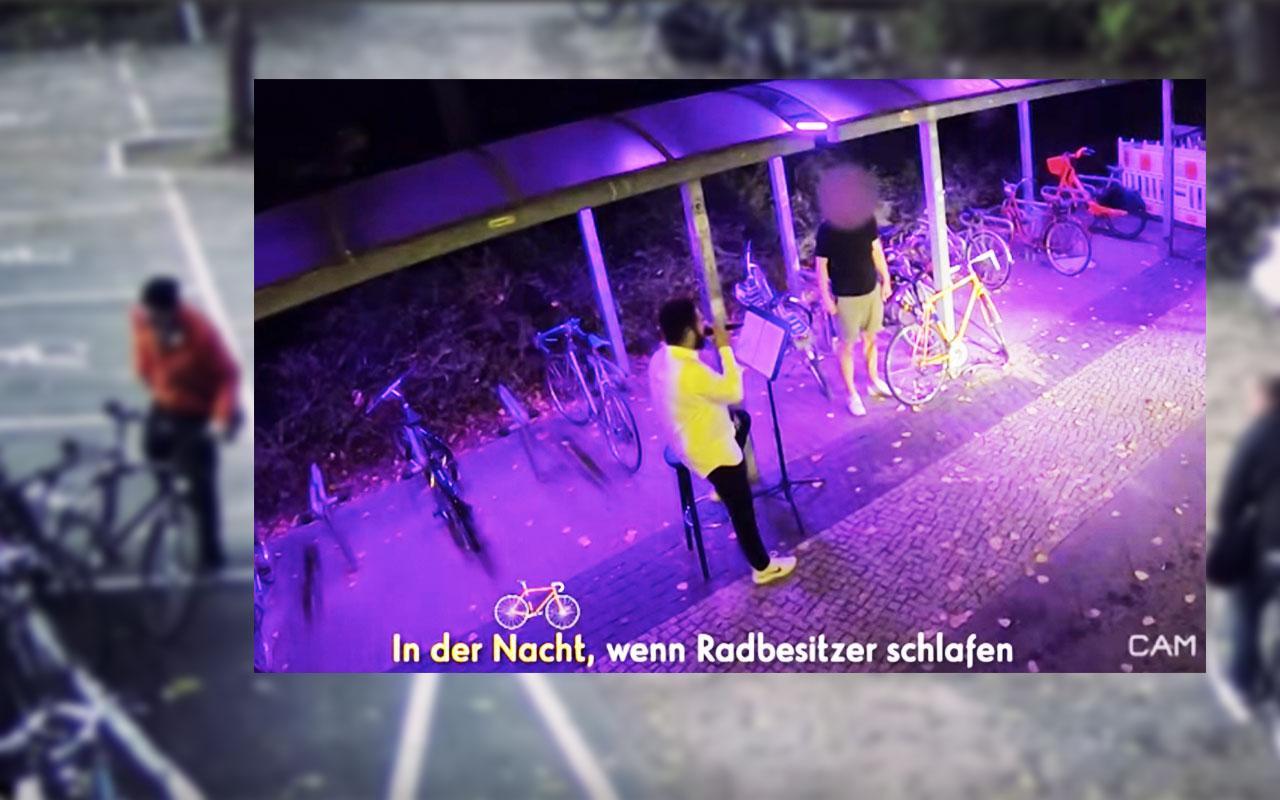 Late Night Berlin: Adel Tawil & Klaas stellen Fahrraddieb eine Falle