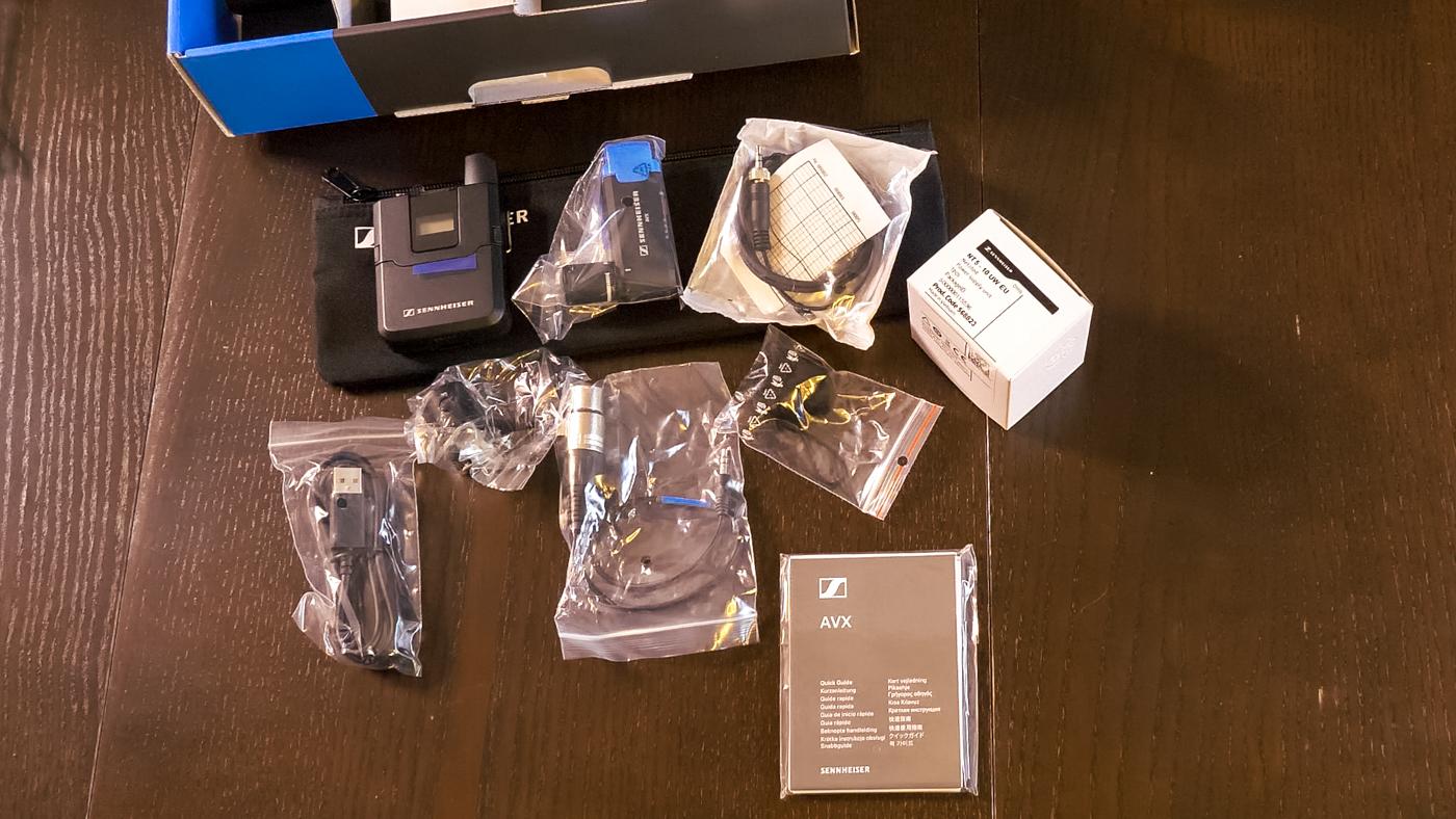 Unpacking: Sennheiser AVX MKE2 Set