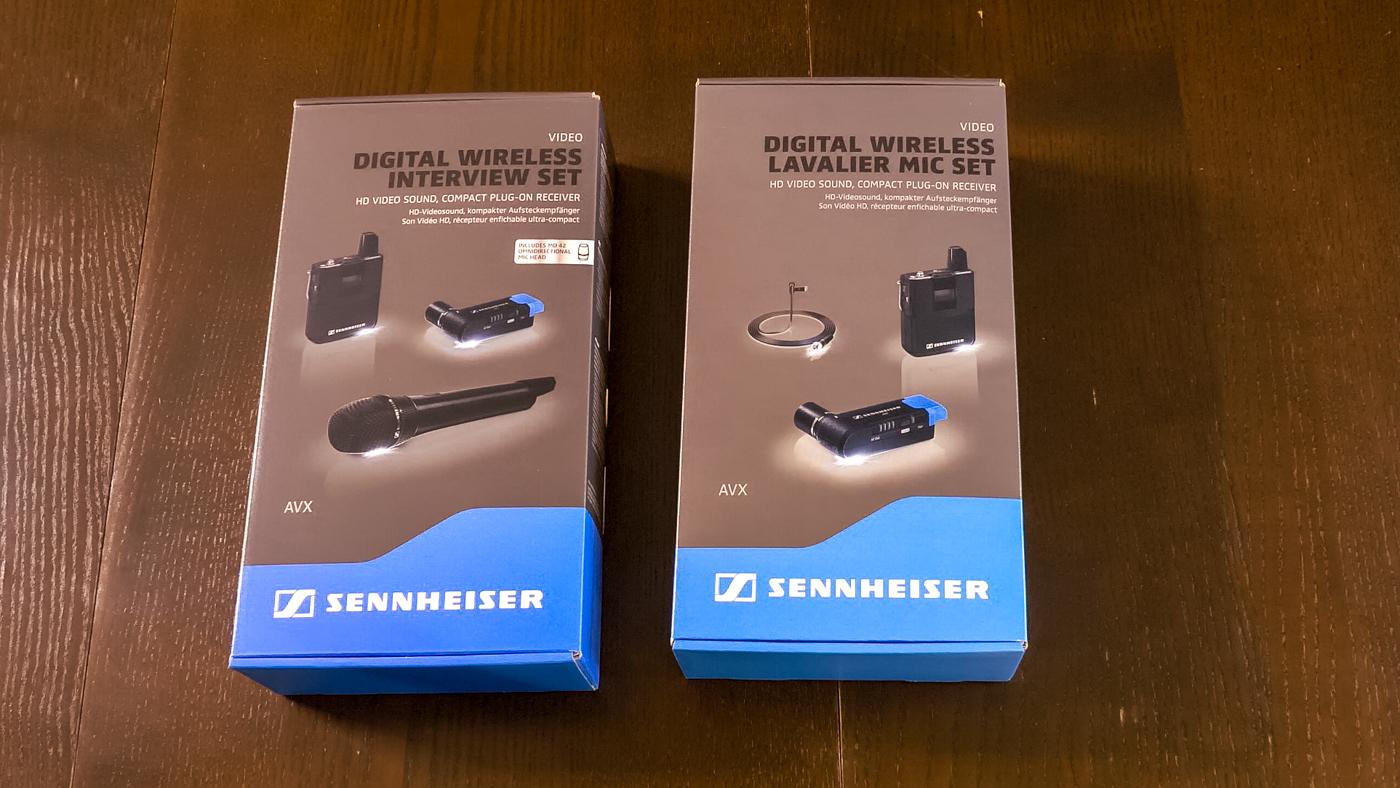 Sennheiser AVX Sets