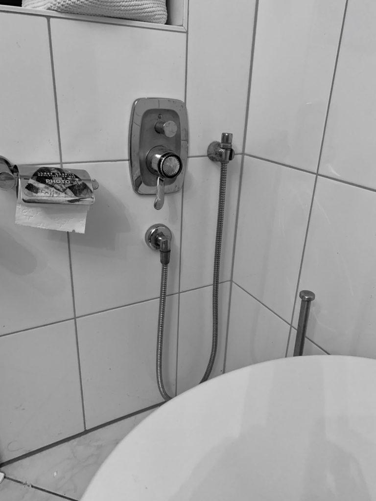 Hygienedusche für den Popo